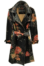 Fashion Week Floral Trench Coat - Product Mini Image