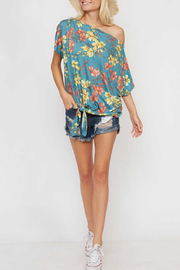 Fantastic Fawn Floral Trends top - Product Mini Image