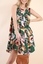 Umgee USA Floral Tropical Dress - Product Mini Image