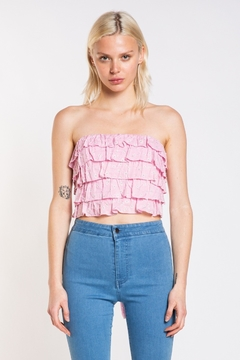 Skylar & Madison Floral Tube Top - Product List Image