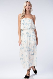 Honey Punch Floral Tube-Top Maxi-Dress - Product Mini Image
