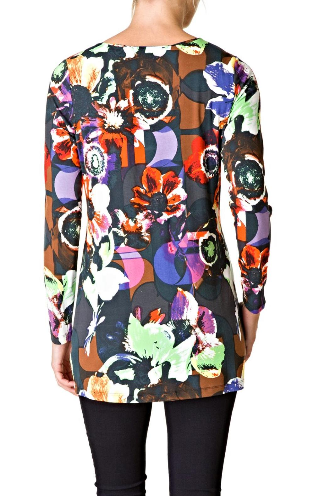 Yest Floral Tunic - Front Full Image