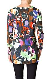 Yest Floral Tunic - Front full body