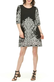 Papillon Floral Tunic Dress - Front cropped