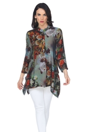 Aris A Floral Tunic Jacket - Product Mini Image