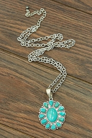 Wild Lilies Jewelry  Floral Turquoise Necklace - Product Mini Image