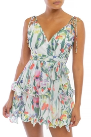 luxxel Floral Tutu Dress - Front cropped