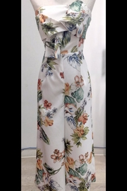 luxxel Floral-Twist Culottes Jumpsuit - Product Mini Image