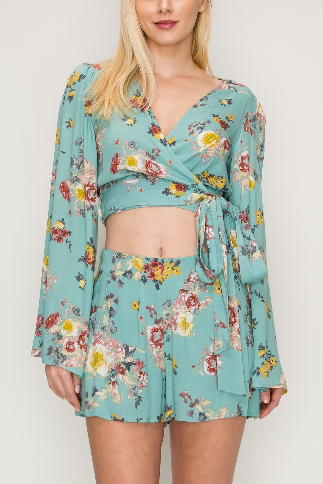 HYFVE Floral Two Piece - Front Full Image