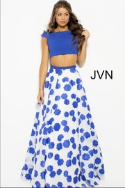 Jovani Floral Two Piece - Product Mini Image