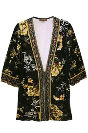 Fashion Week Floral Velvet Tunic - Product Mini Image