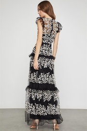 BCBG MAXAZRIA Floral Vine Applique Gown - Product Mini Image
