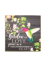 Giftcraft Inc.  Floral Wall/Desk Blocks - Product Mini Image