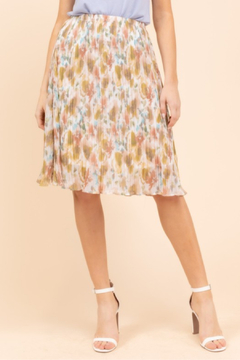 Gilli  Floral Water Color Skirt - Product List Image
