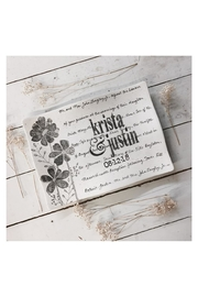 Museware Pottery Floral Wedding Invitation - Product Mini Image