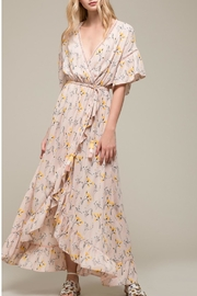 Moon River Floral Woven Dress - Product Mini Image
