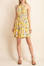 Gilli Floral Woven Dress - Product Mini Image