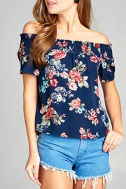 Active Basic floral woven top - Product Mini Image