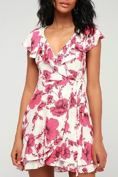 Free People Floral Wrap Dress - Product List Image
