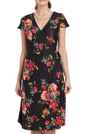 Voodoo Vixen Floral Wrap Dress - Product Mini Image