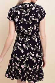 Wild Honey Floral Wrap Dress - Side cropped