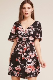BB Dakota Floral Wrap Dress - Front cropped