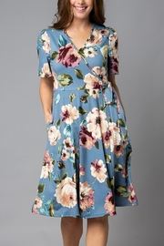 Lyn-Maree's  Floral Wrap Dress - Product Mini Image