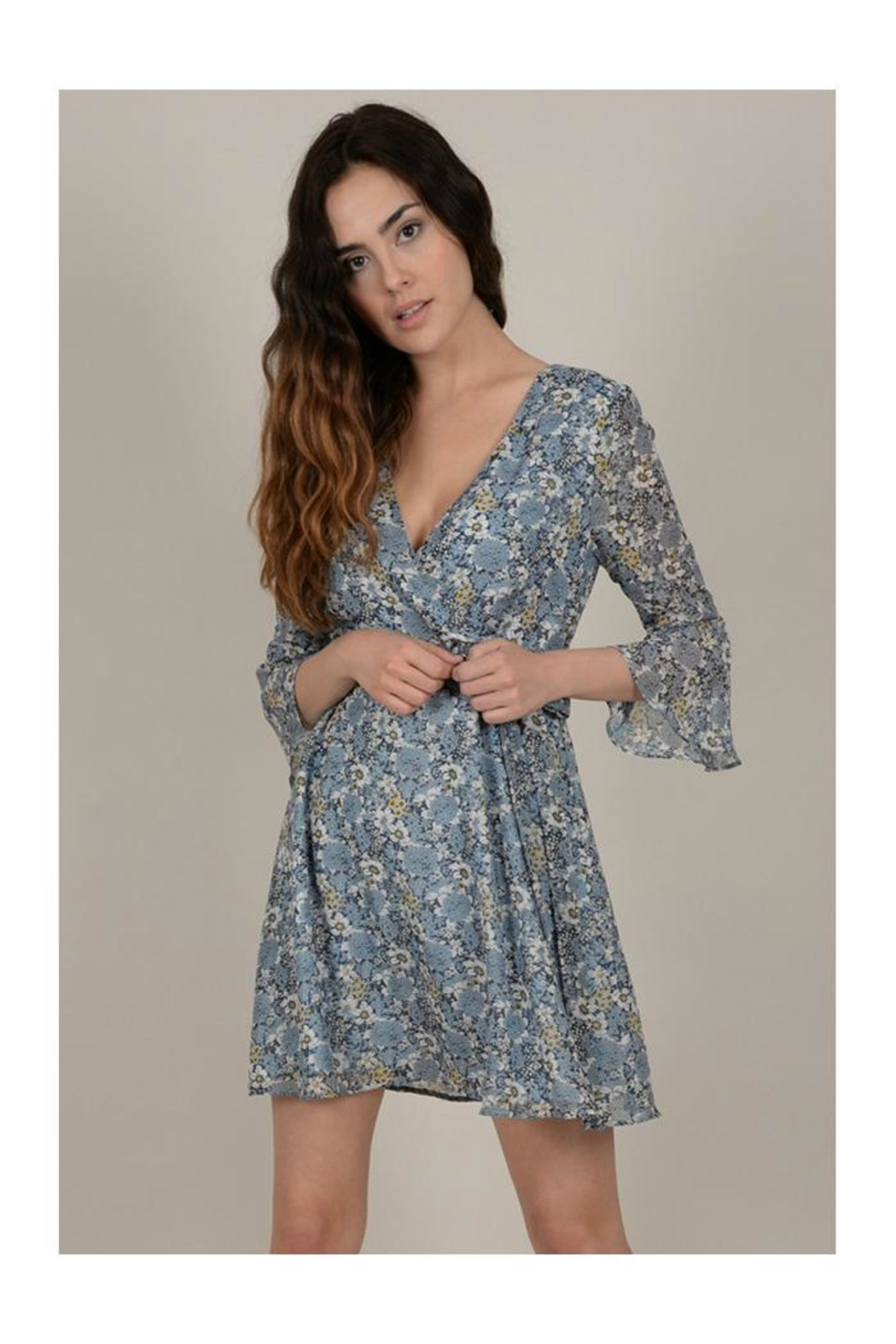 Molly Bracken Floral Wrap Dress - Main Image