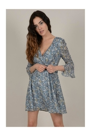 Molly Bracken Floral Wrap Dress - Front cropped
