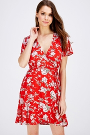 AAKAA Floral Wrap Dress - Product Mini Image