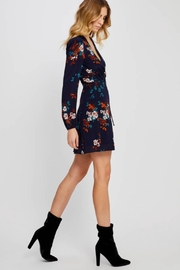 Gentle Fawn Floral Wrap Dress - Side cropped