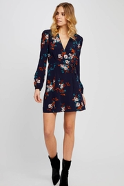 Gentle Fawn Floral Wrap Dress - Front full body