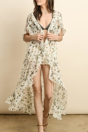 dress forum Floral Wrap Kimono - Product Mini Image