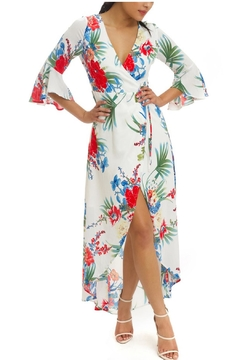 Shoptiques Product: Floral Wrap Maxi