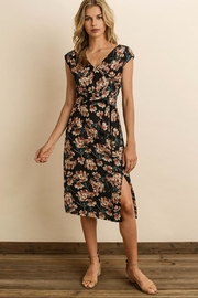 dress forum Floral Wrap Midi-Dress - Product Mini Image