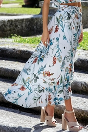 Elan Floral Wrap Skirt - Product Mini Image