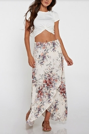 Love Stitch Floral Wrap Skirt - Product Mini Image