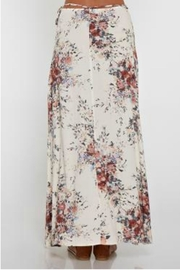 Love Stitch Floral Wrap Skirt - Other