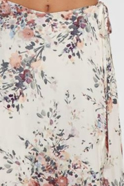 Love Stitch Floral Wrap Skirt - Back cropped