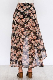 Flying Tomato Floral Wrap Skirt - Other
