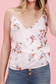 ALB Anchorage Floral Wrap Tank - Product Mini Image