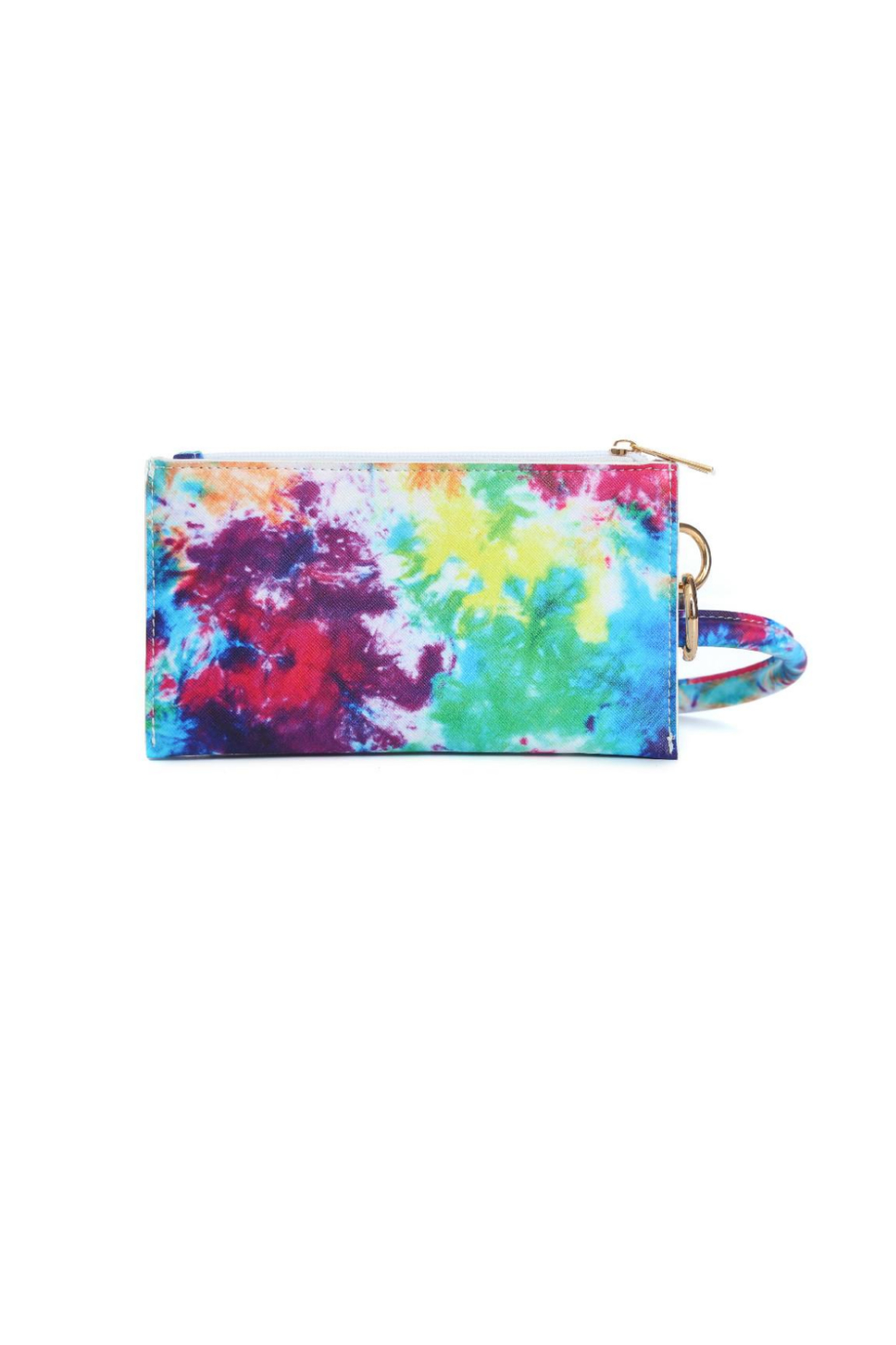Memories Floral Wristlet - Front Cropped Image