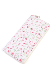 Riah Fashion Floral Zipper Wallet - Front cropped
