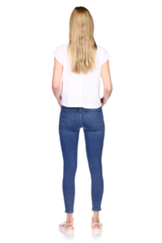 DL1961 Florence Mid Rise Blue Bell - Side cropped