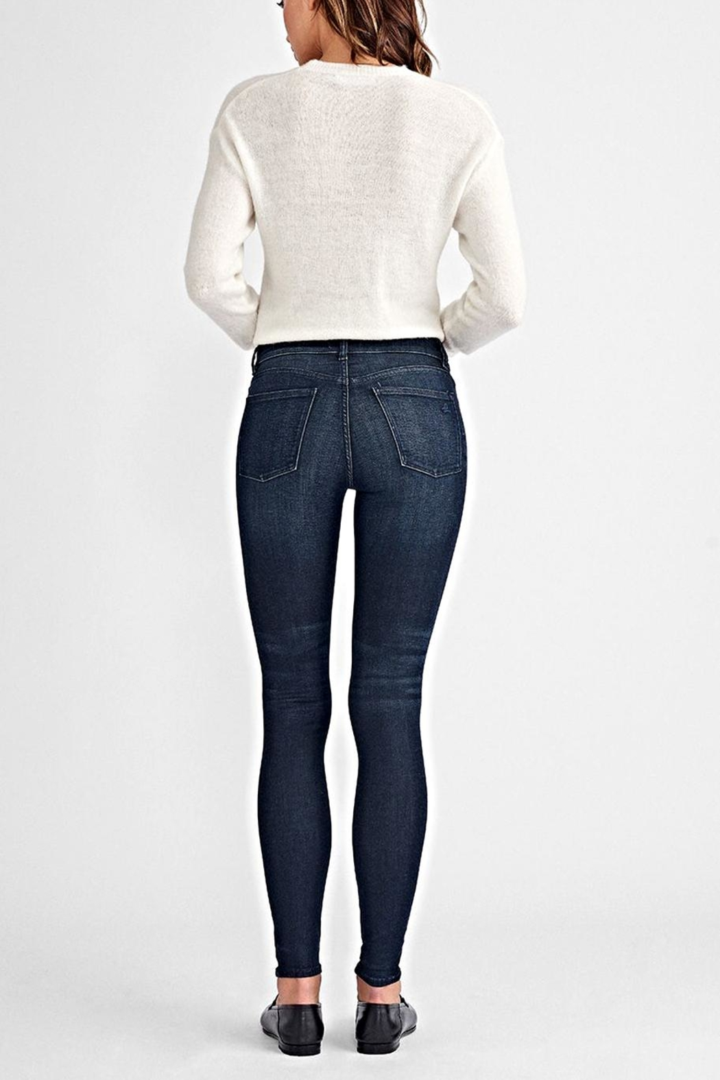 DL1961 Florence Mid-Rise Skinny - Side Cropped Image
