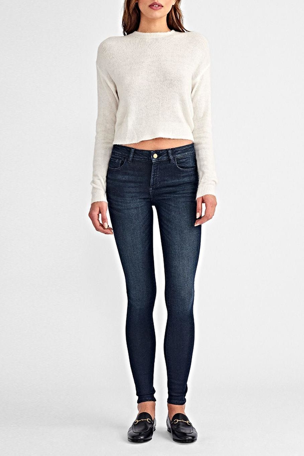 DL1961 Florence Mid-Rise Skinny - Front Full Image