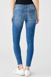 DL1961 Florence Mid Rise Skinny in Full Richland - Back cropped
