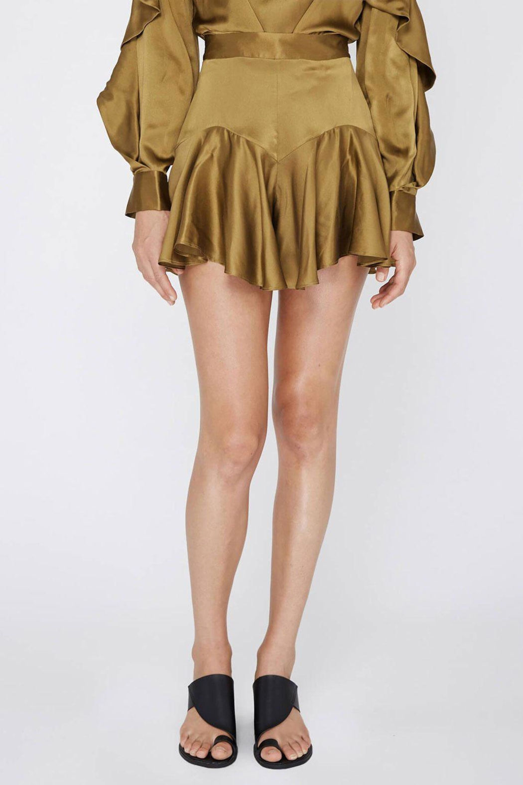 Acler Florence Silk Short - Main Image