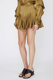 Acler Florence Silk Short - Front full body