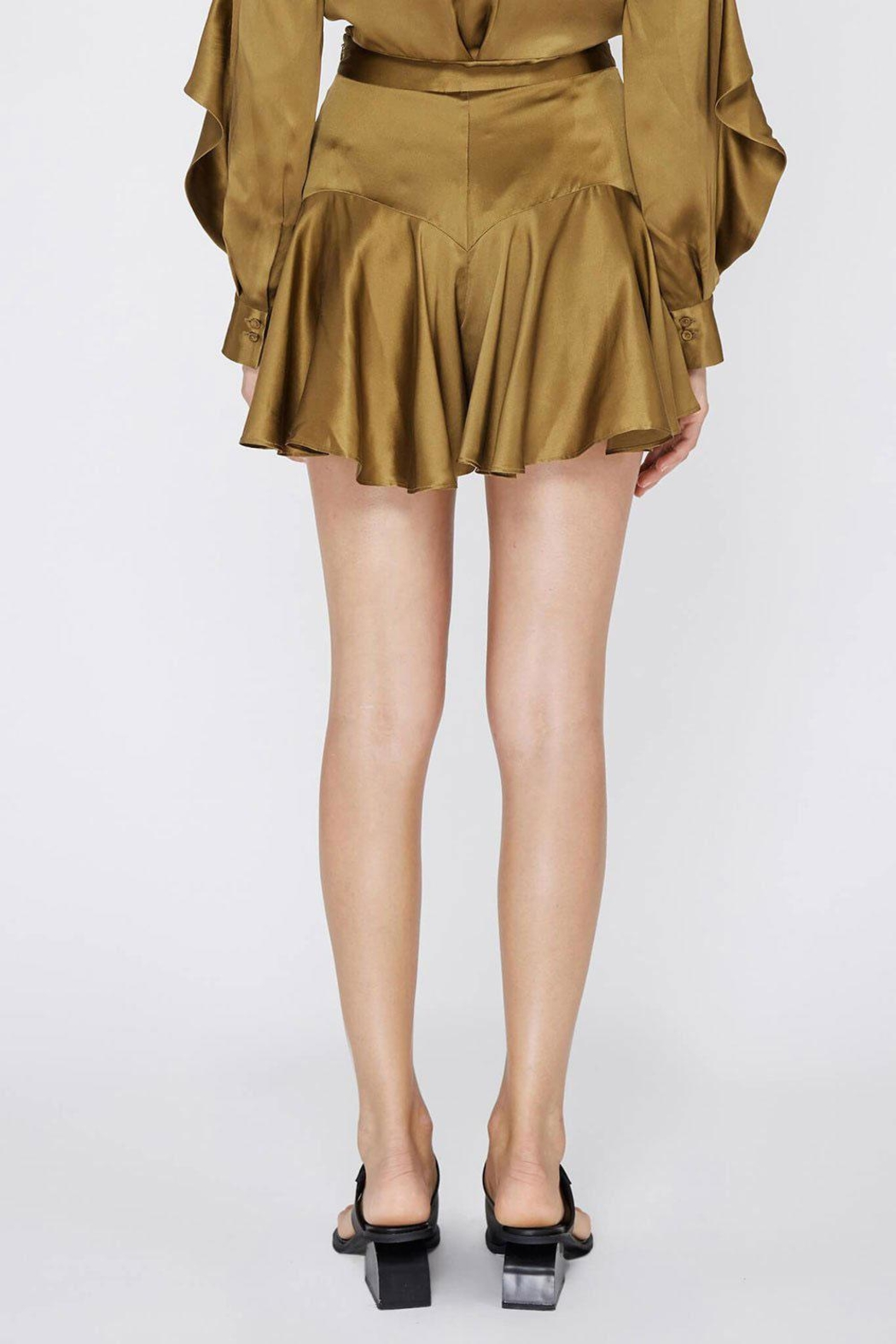 Acler Florence Silk Short - Side Cropped Image